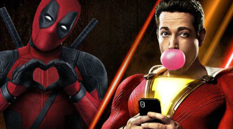Zachary Levi Shazam Deadpool
