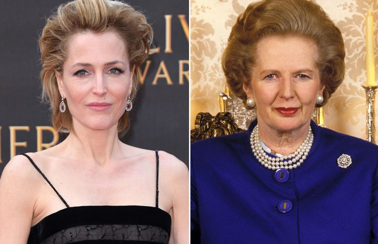 NETFLIX : GILLIAN ANDERSON si aggiunge al cast di The Crown